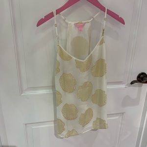 LILLY PULITZER SILK DUSK TOP FOR SALE!!!